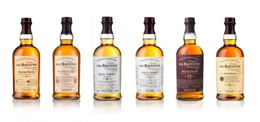 balveniewhiskyrange